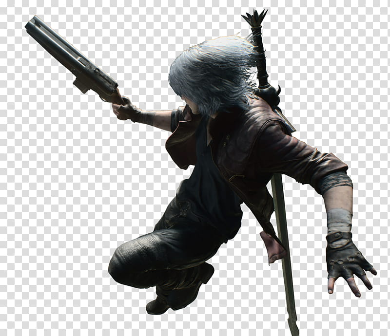 Devil May Cry Dante Coyote A Render transparent background.