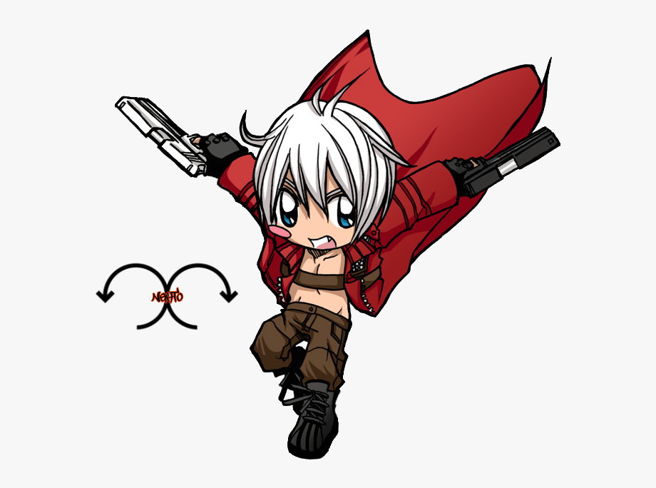 Devil May Cry Clipart Render.