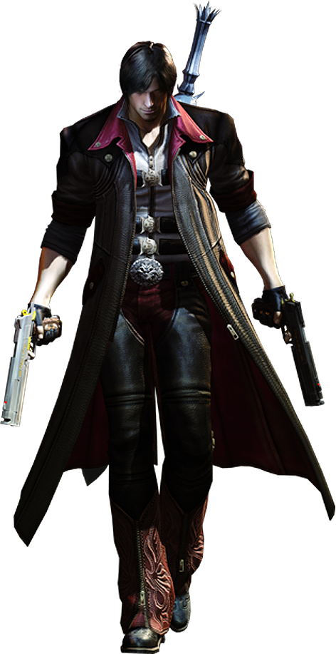 Dante's EX color for Devil May Cry 4 Special Edition. Coat color and.