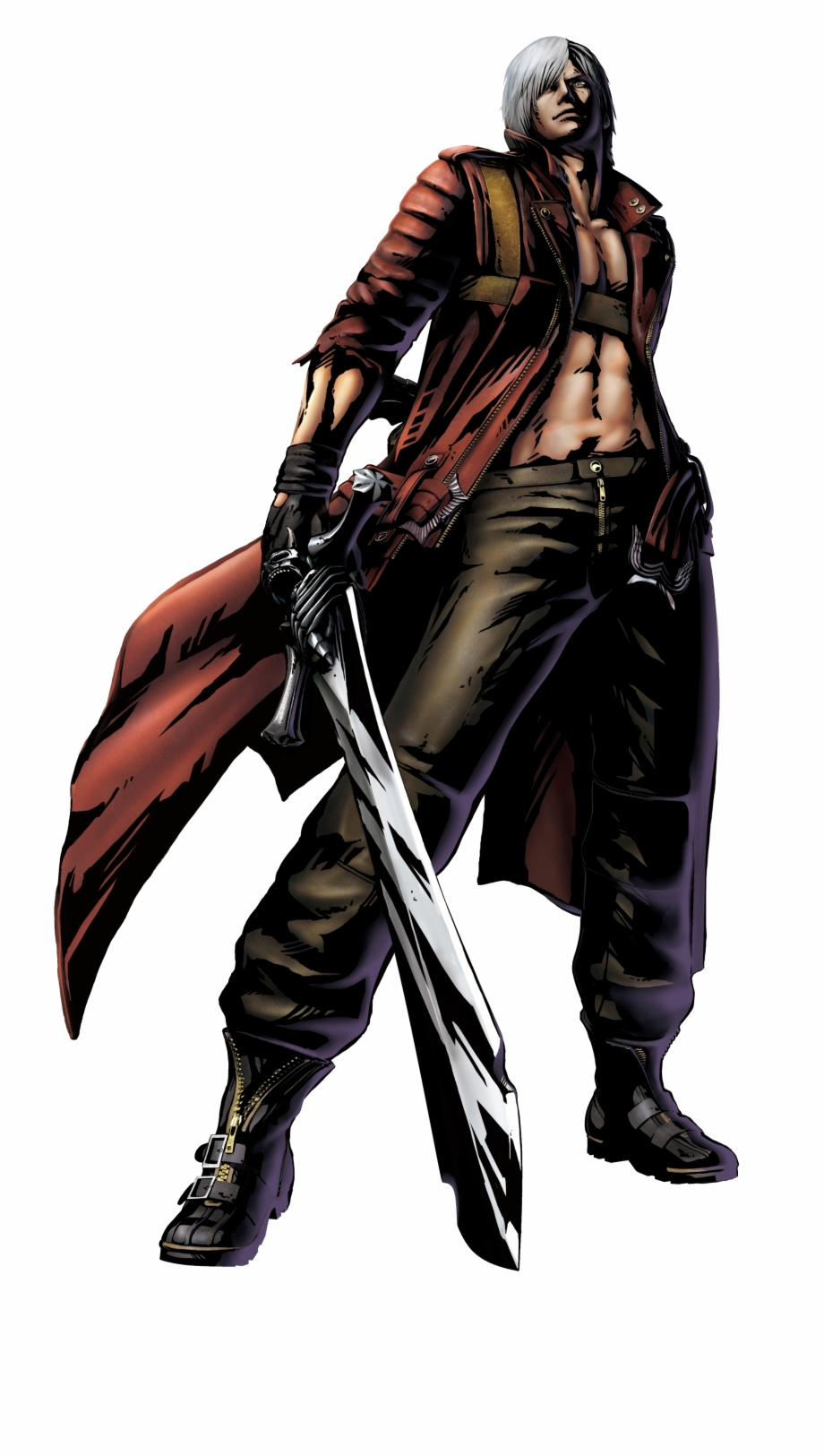 Dante From Devil May Cry 3 Free PNG Images & Clipart Download.