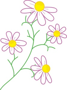 Flower Clipart Image.