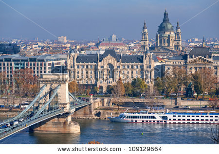 Danube River Stock Photos, Royalty.