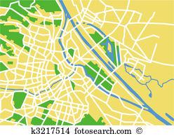 Danube river Clip Art Vector Graphics. 40 danube river EPS clipart.