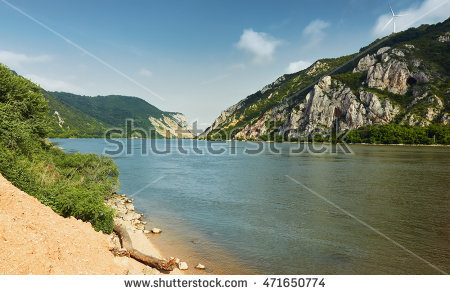 Iron Gates Danube Stock Photos, Royalty.