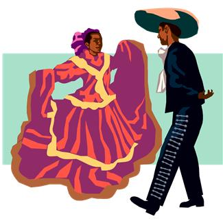 Mexican Dance Clipart.
