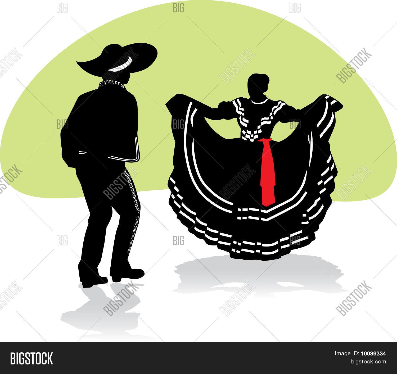 Mexican Folkloric Dance Couple Stock Vector & Stock Photos.