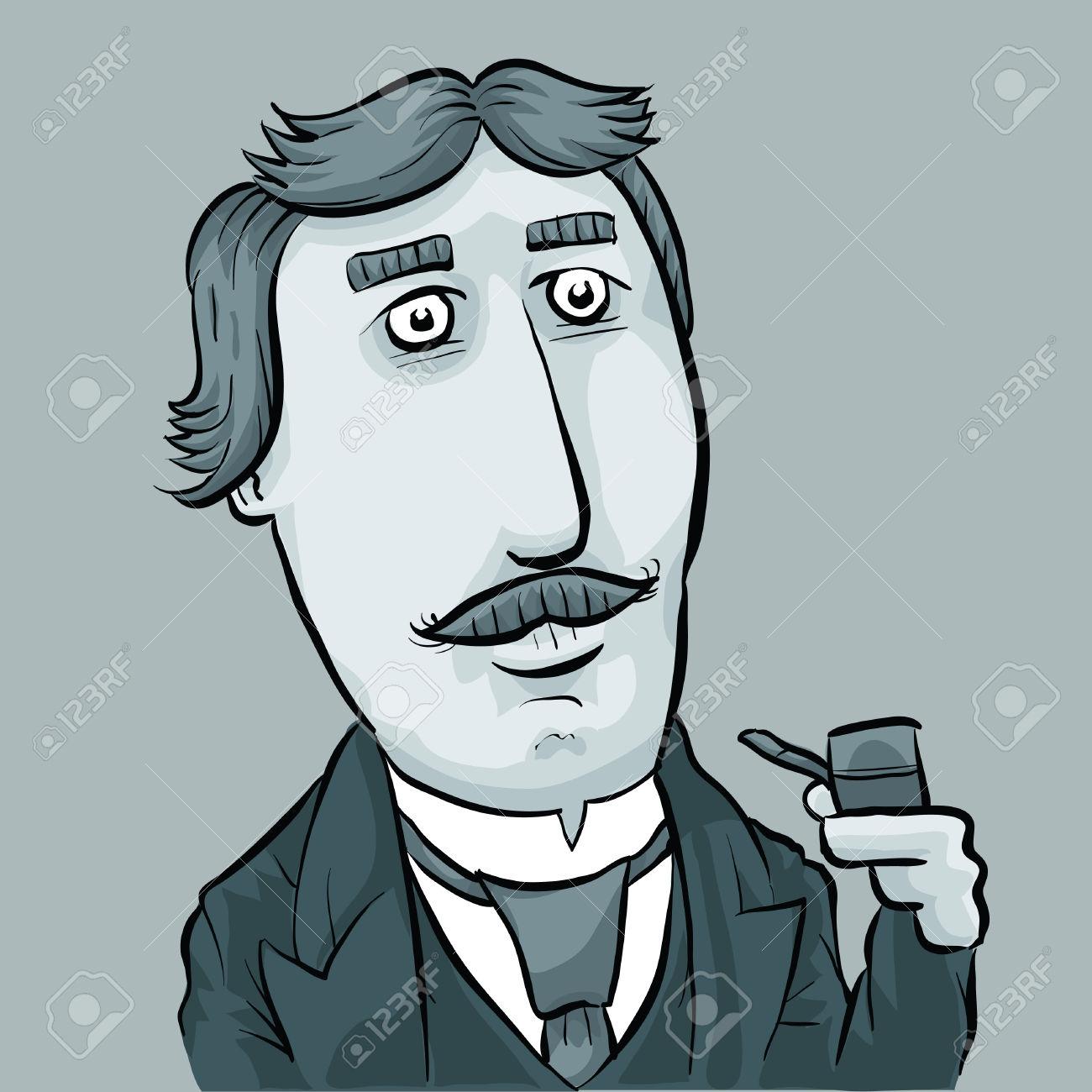 Dapper Man Cartoon.