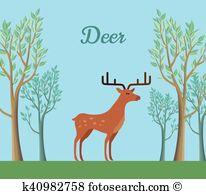Dappled deer Clipart EPS Images. 10 dappled deer clip art vector.