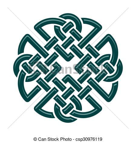 Vector Clip Art of Celtic Knot.
