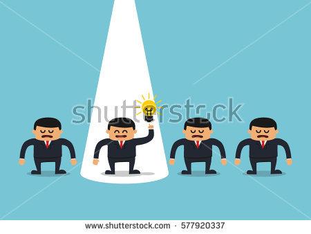 Dare to be different clipart #3