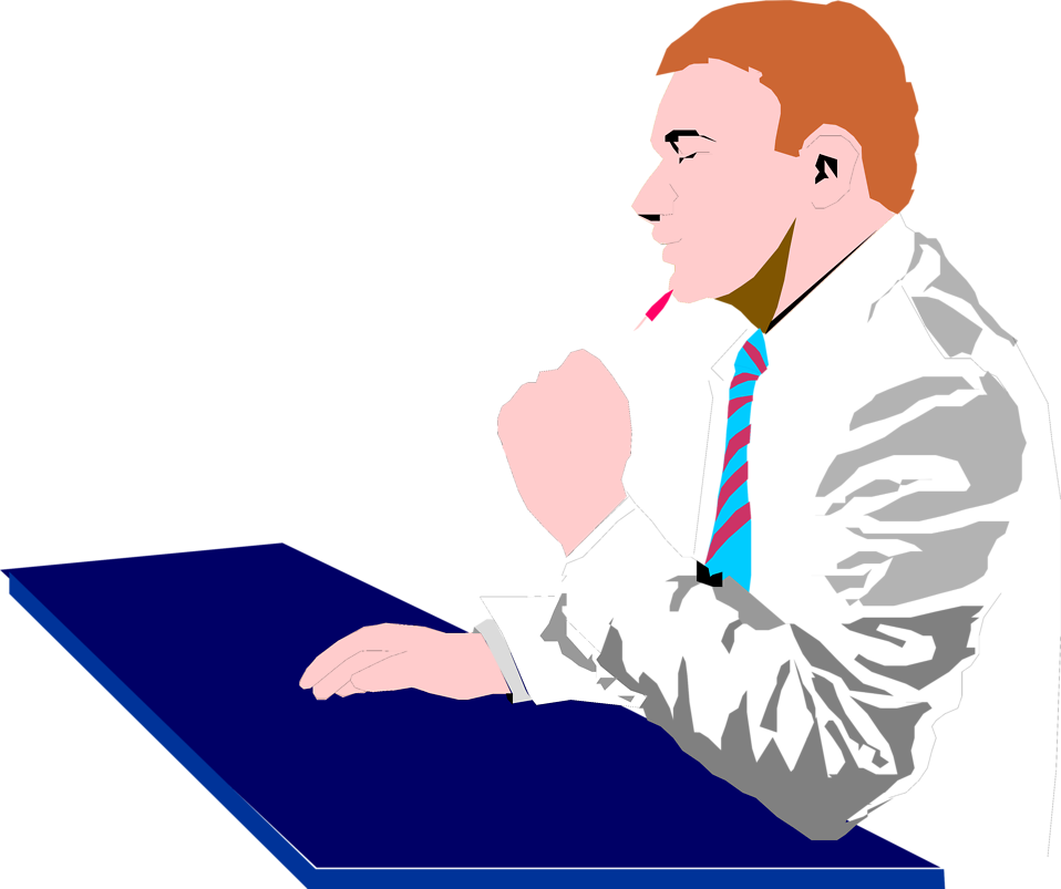 Free Picture Of Thinking Man, Download Free Clip Art, Free.