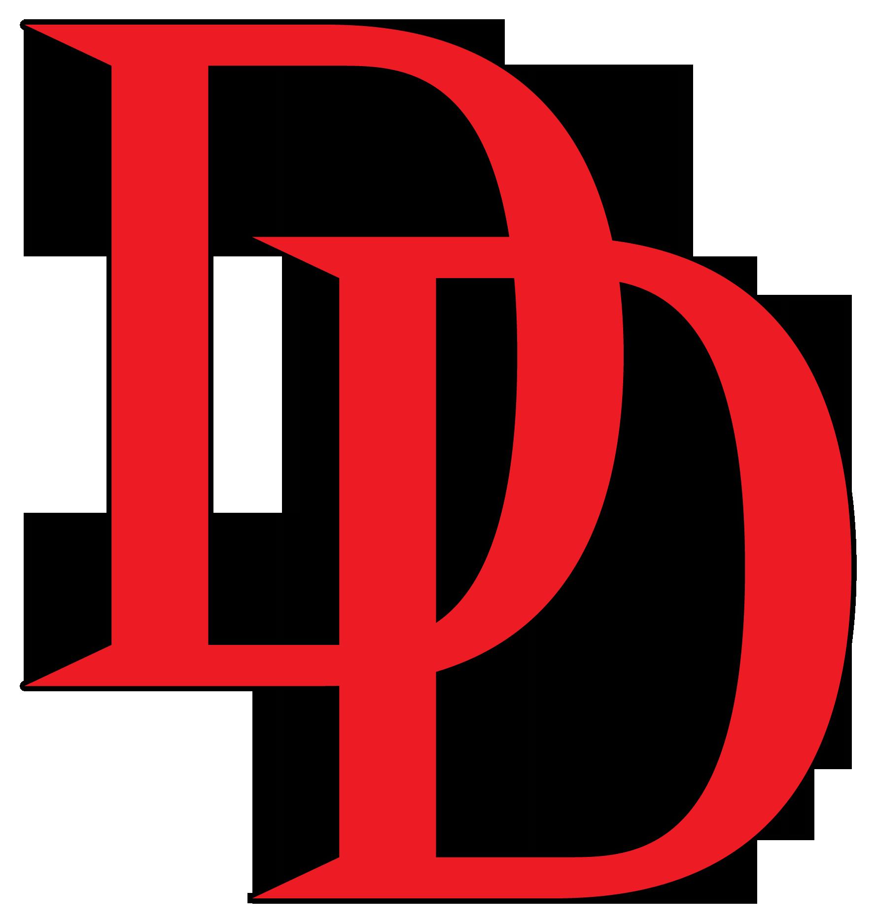 Daredevil DD Logo.