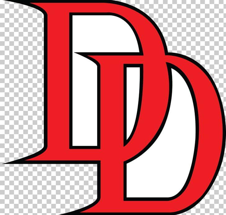 Daredevil Logo Symbol PNG, Clipart, Area, Artwork, Brand, Comic.