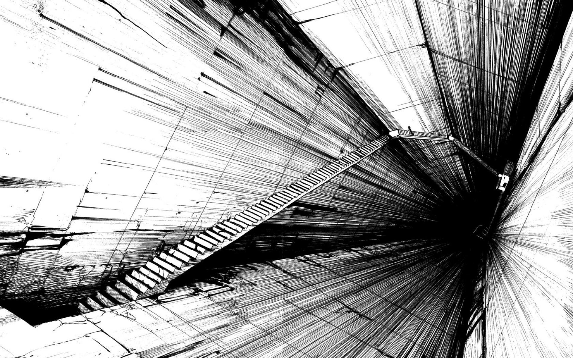 Dark Abstract Clipart 1920x1080.