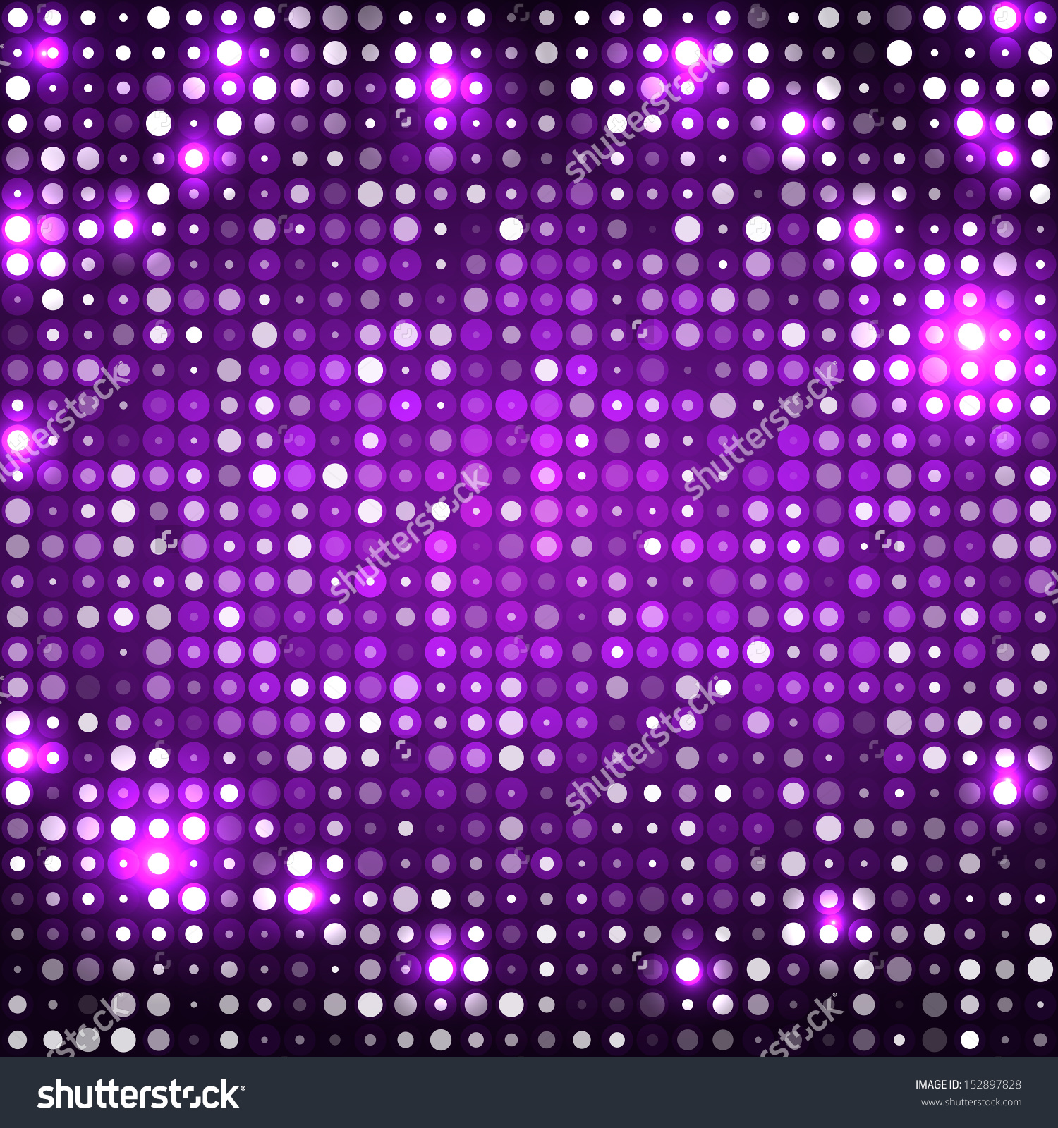 Dark purple abstract clipart.
