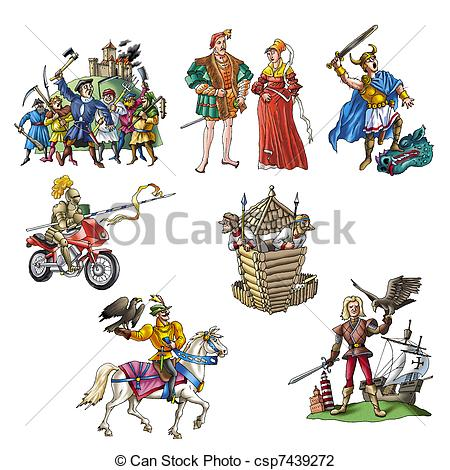 Clipart middle ages.