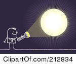 Light and dark clipart.