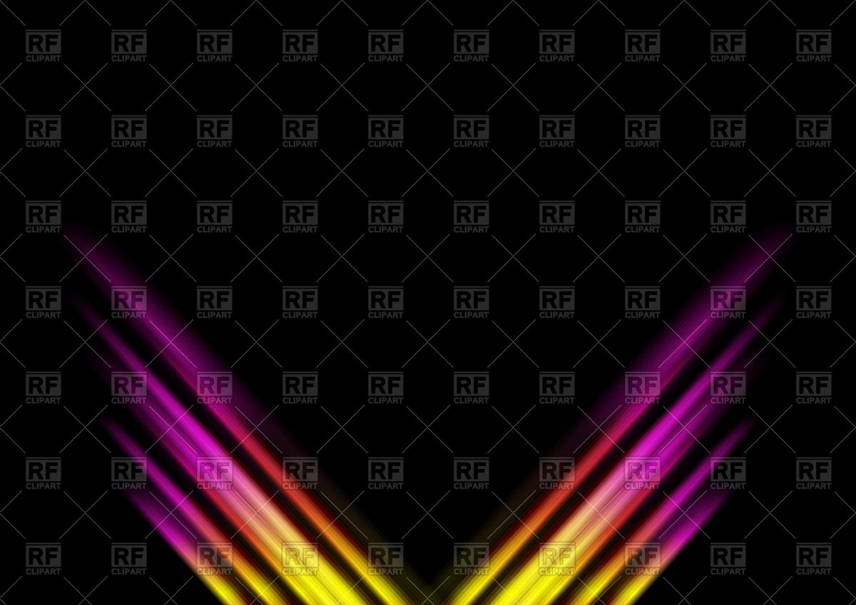 Abstract colorful stripes dark background Vector Image #96527.