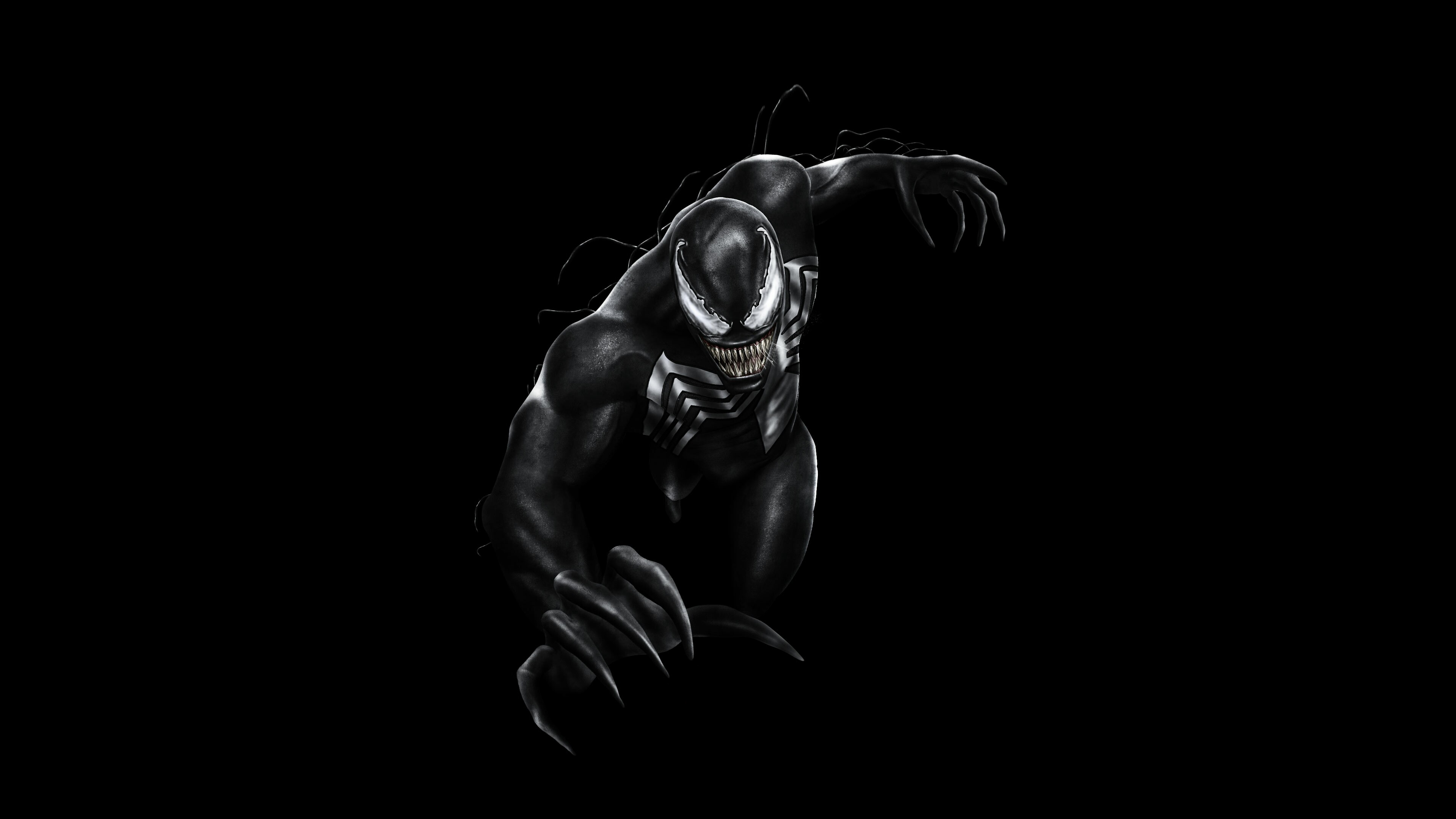 5101381 #Black, #Venom, #4K, #Dark background PNG 872 kb.