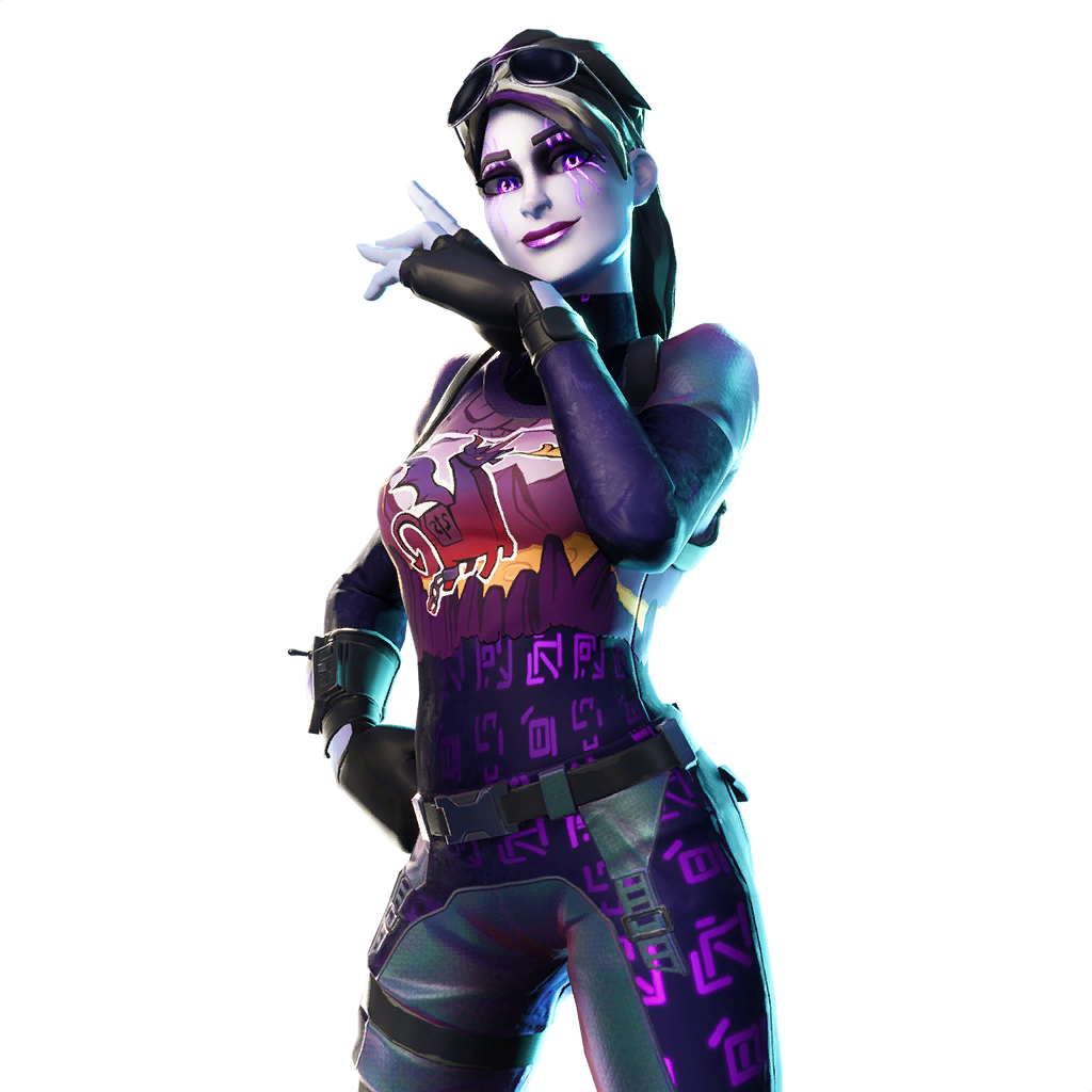 New Dark Bomber Fortnite Skin PNG Image.