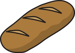 Brown food clipart.