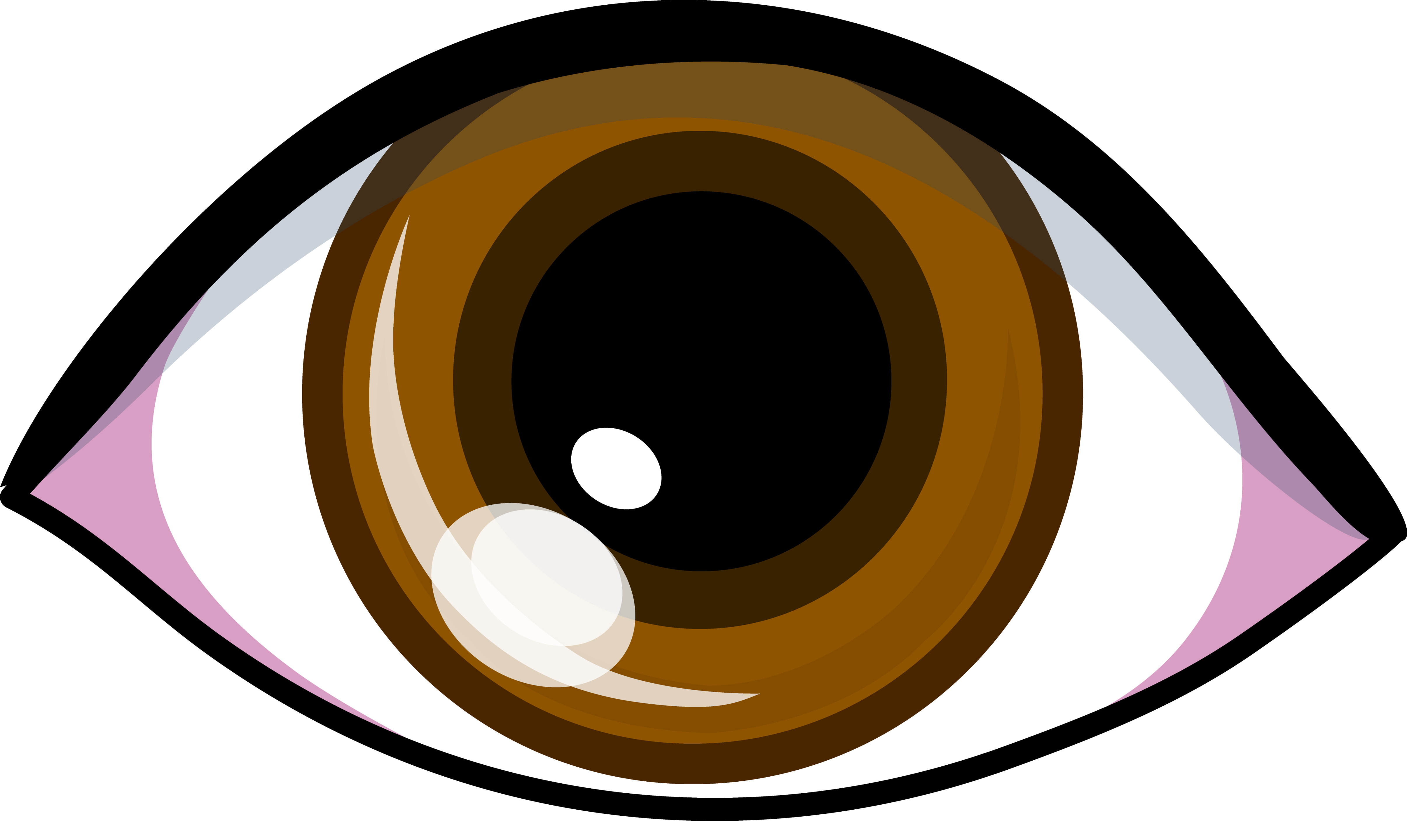 Dark Brown Eyes Clipart.