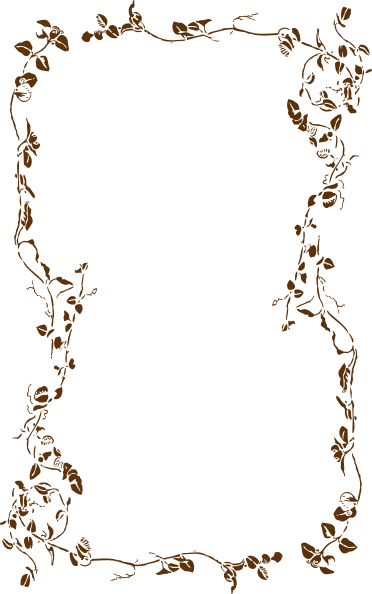 Brown Border Clipart.