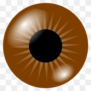 Brown Eye Clip Art At Vector.
