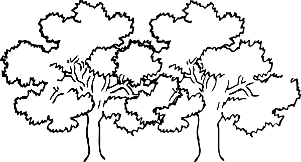 Dark bush and trees clipart 20 free Cliparts | Download ...