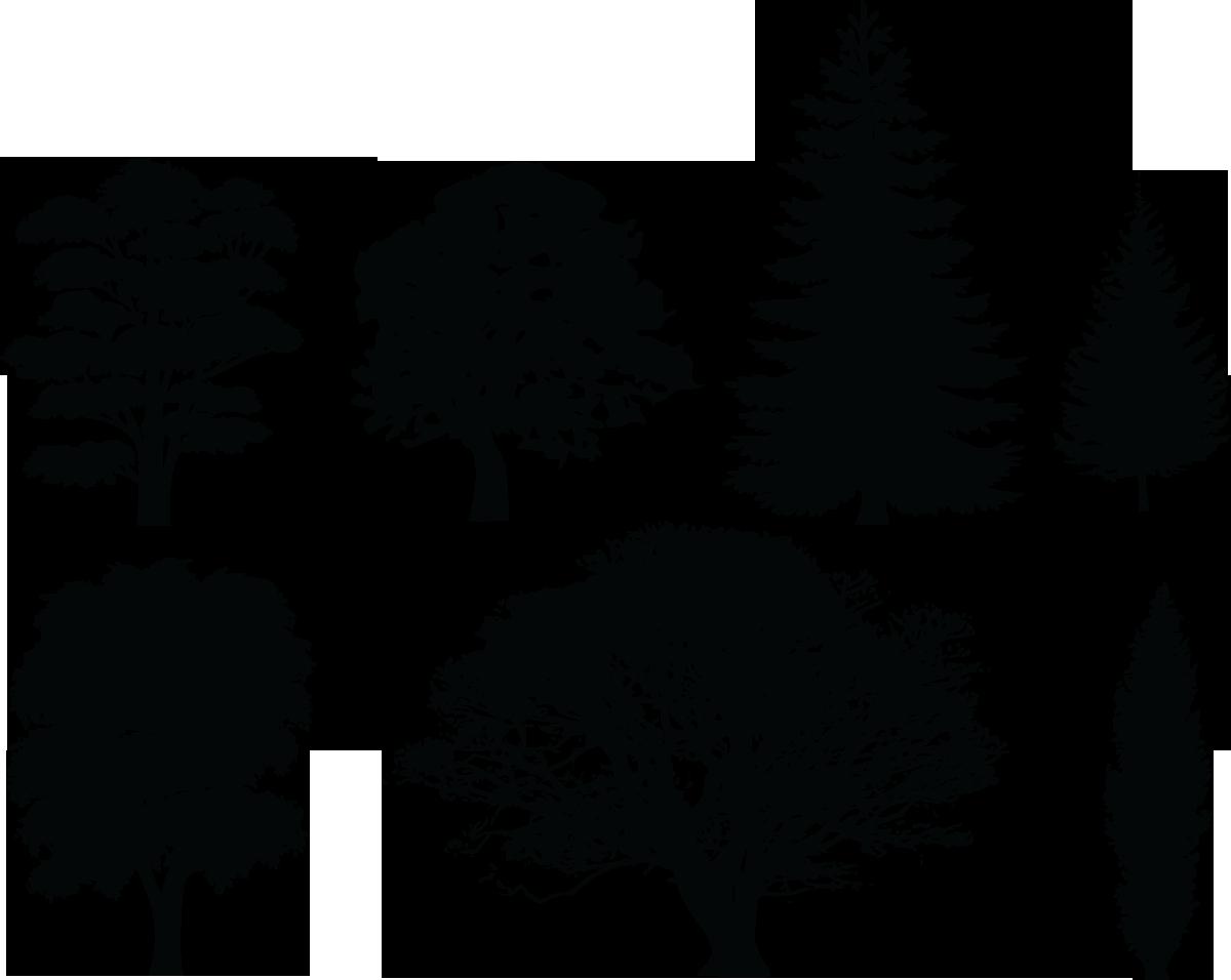 Landscape clipart tree png.