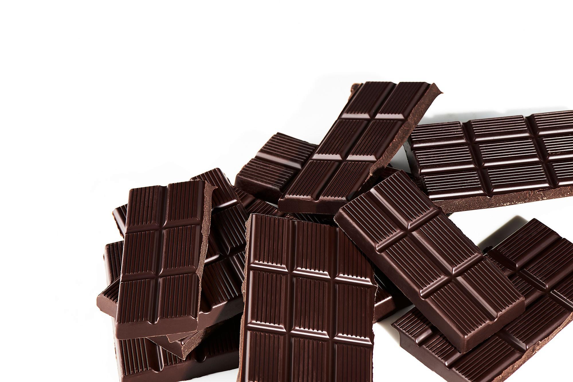 Dark Chocolate Transparent.