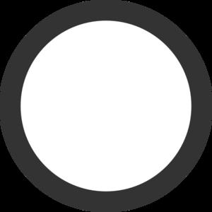 Gray Circle Clipart.