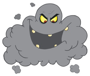 Dark Storm Cloud Clipart.