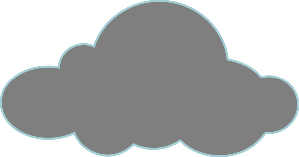 Dark Cloud Clipart.