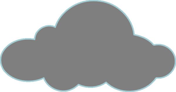 Dark Cloud Clipart.