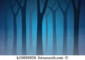 Dark forest Clipart and Illustration. 3,771 dark forest clip art.