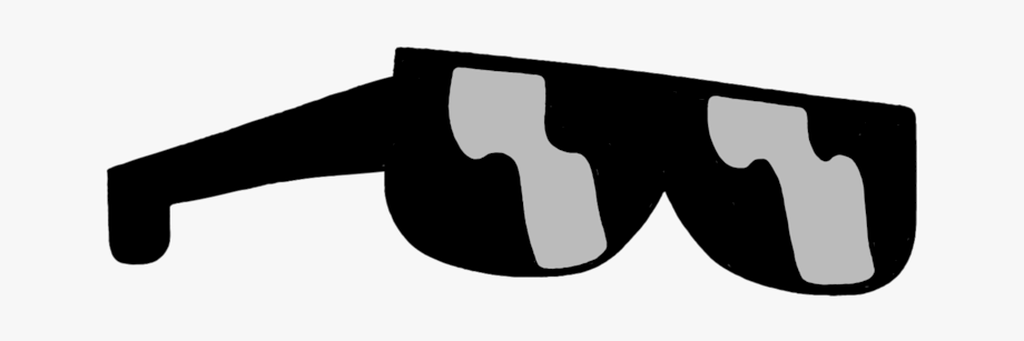 Sunglass Clipart Dark Glass.