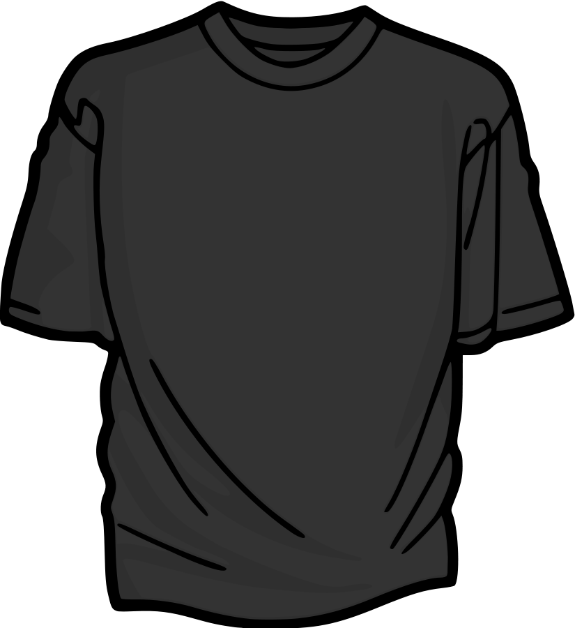 Plain dark grey clipart.