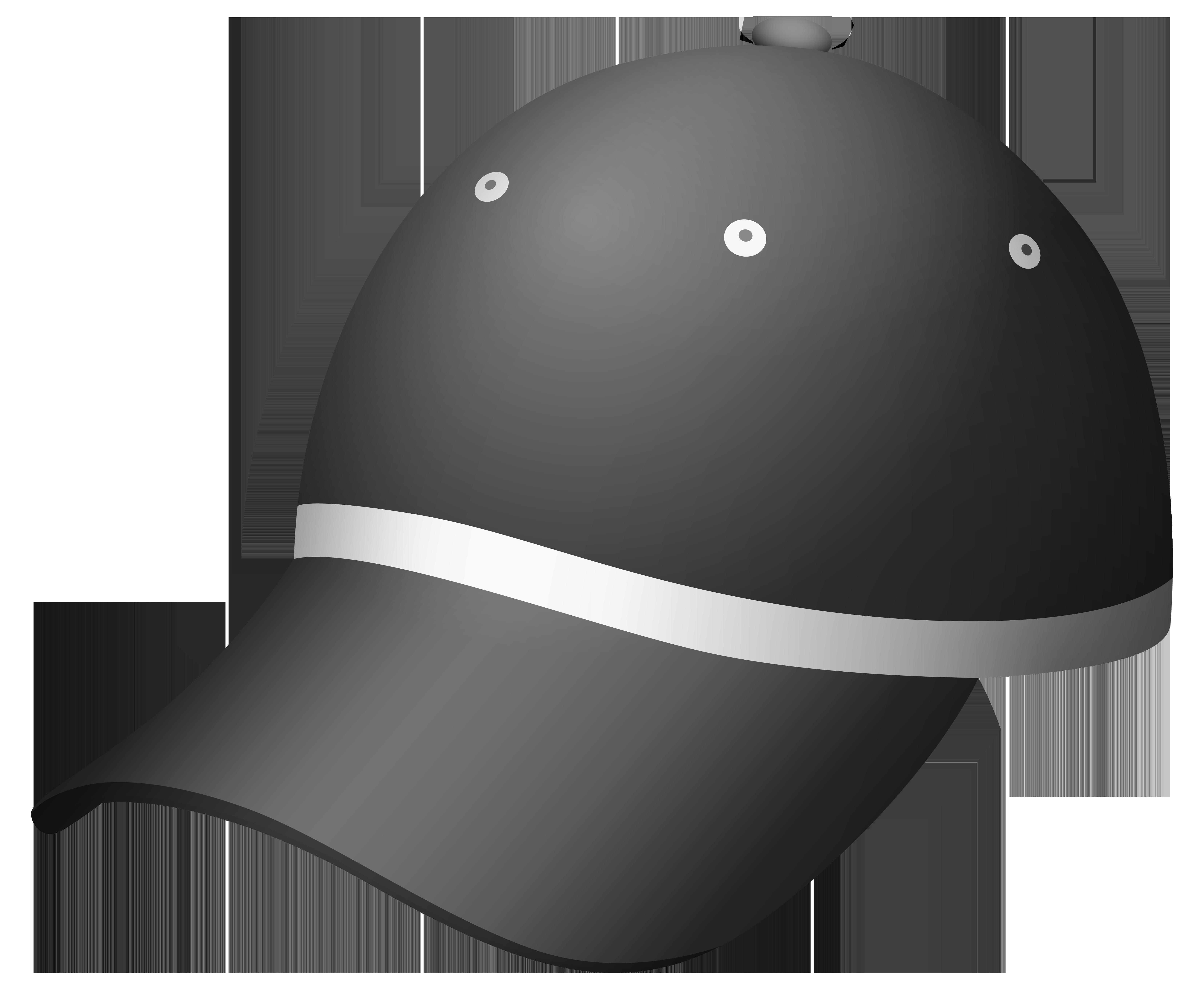 Dark Gray Cap PNG Clipart.