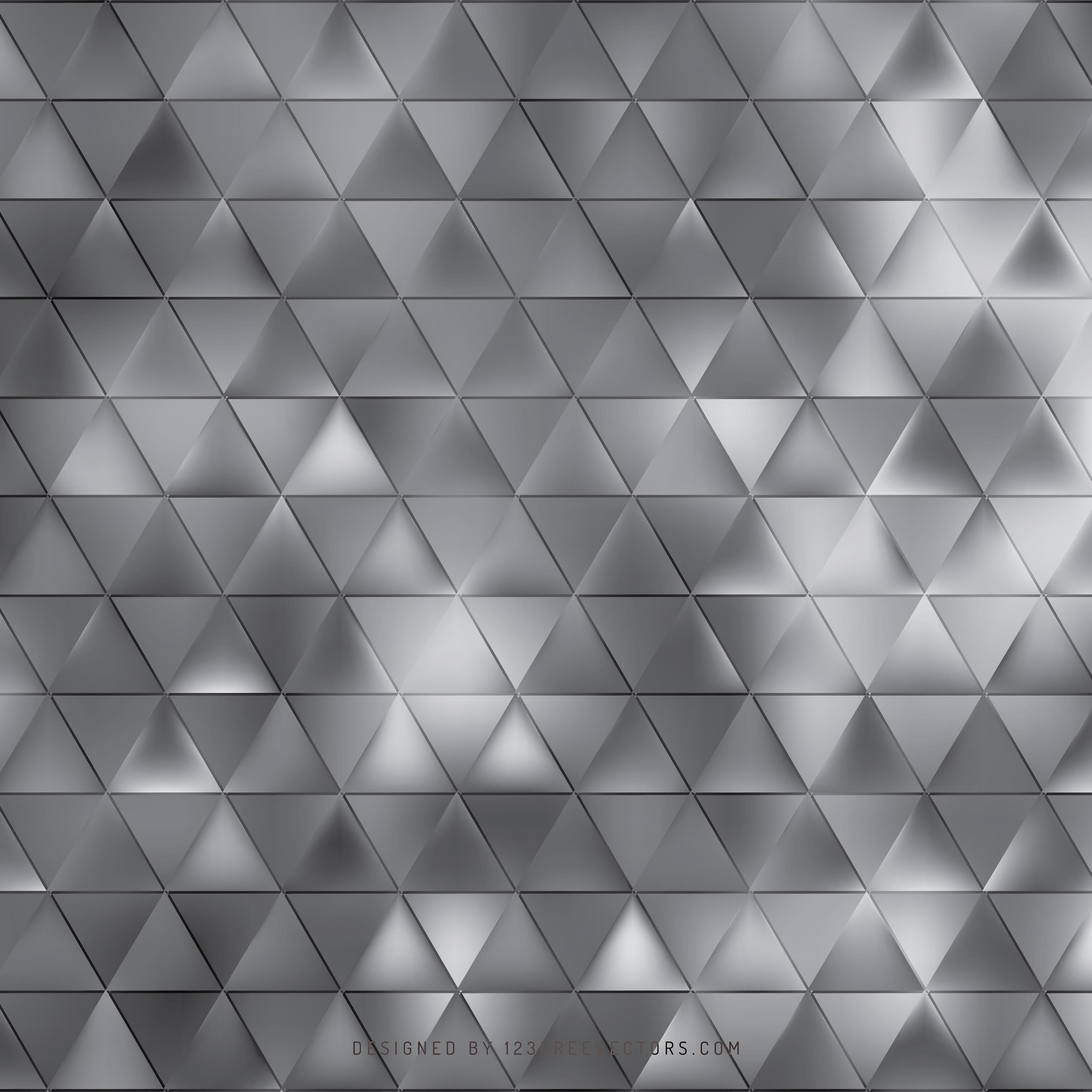 Dark Gray Triangle Background Clip Art.