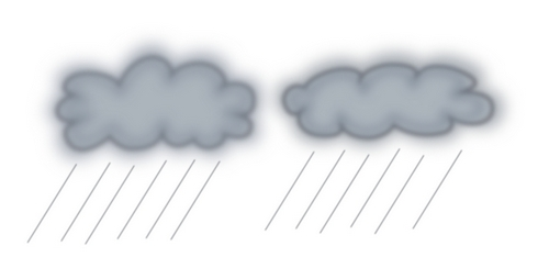 Gray Storm Clouds Clip Art.
