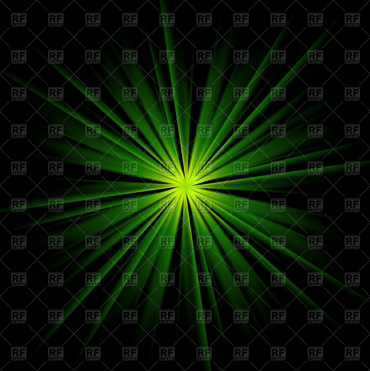 Dark green beams abstract background Vector Image #95113.