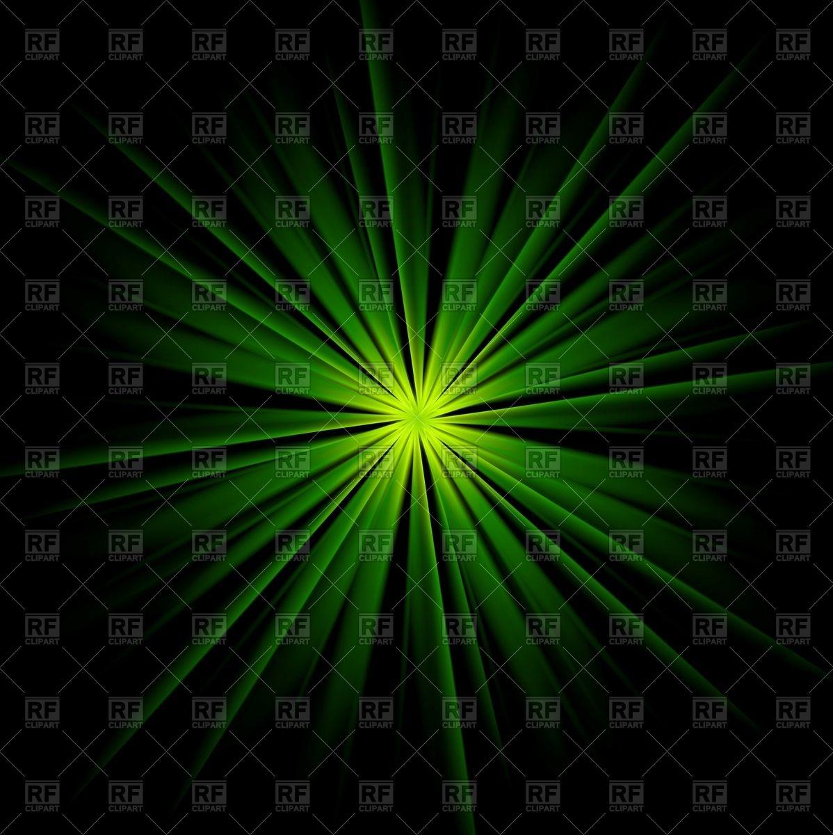 Dark green beams abstract background Vector Image #95113.