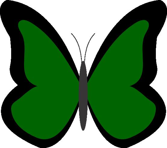 Dark green clipart.