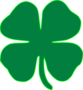 Shamrock Dark Green Clip Art at Clker.com.