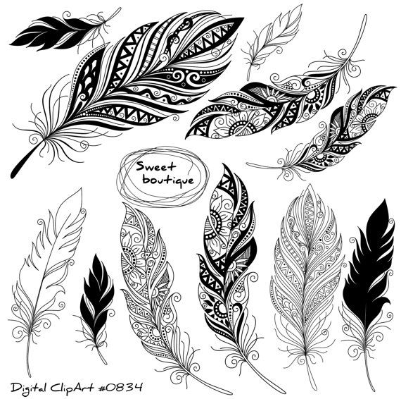 1000+ ideas about Tribal Feather on Pinterest.