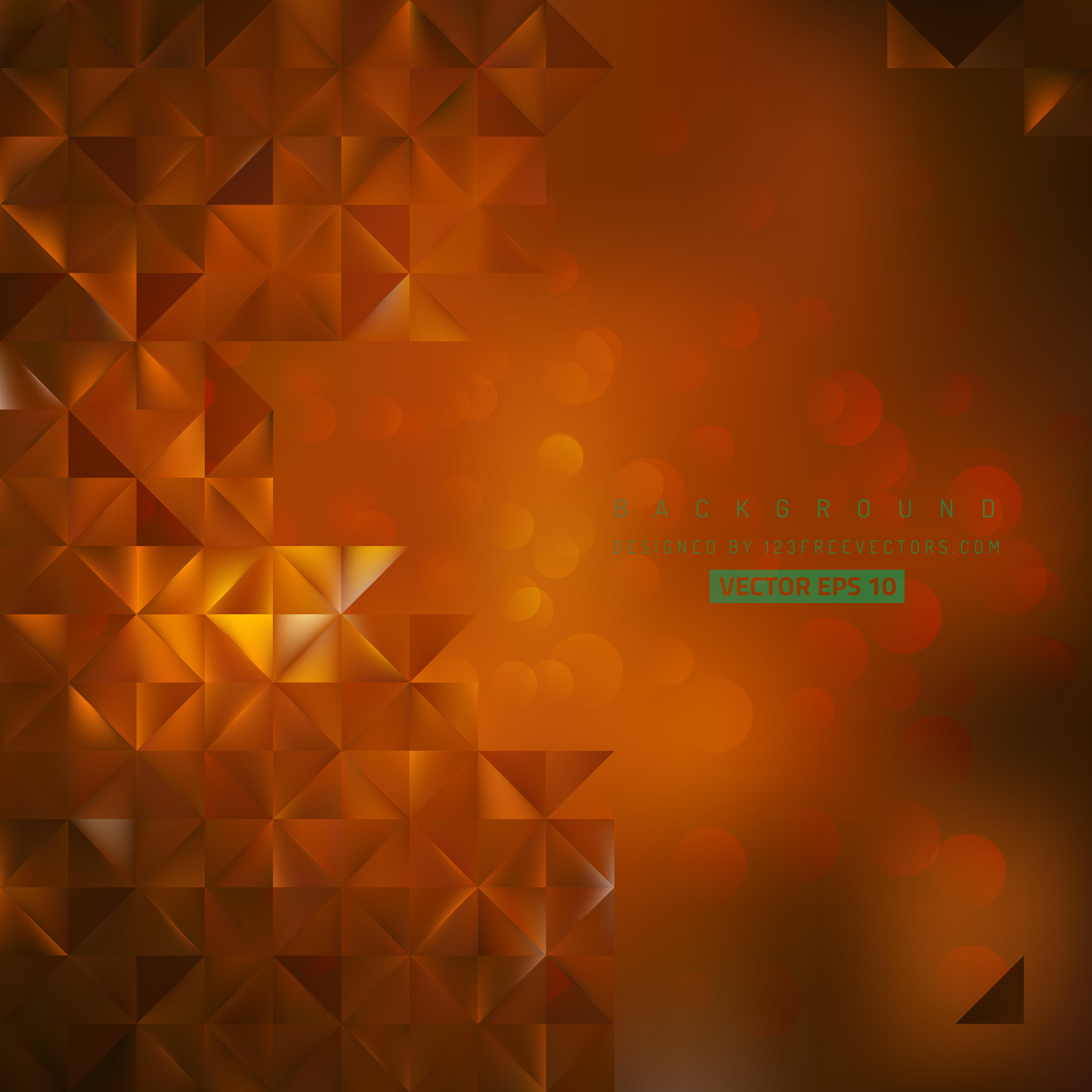 Abstract Dark Orange Background Clip art.
