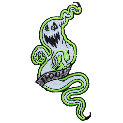 Boo Ghost Glow in the Dark Patch by Kreepsville 666 (ep383.