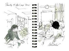 Grey's Anatomy Cast Art Sketches.