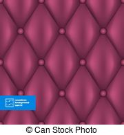 Vectors Illustration of Dark Deep Blue with Gold Quilted Leather.
